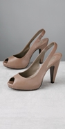 Ash Rubis Open Toe Sling Back Pump coupon