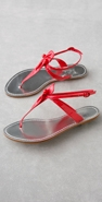 Belle by Sigerson Morrison Patent Pin Thong Sandal coupon