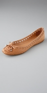 Belle by Sigerson Morrison Lace Up Square Toe Flat coupon