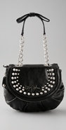 Betsey Johnson Handbags Rock Star Betsey Flap Shoulder Bag coupon