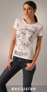 Bop Basics Jovovich-Hawk for Glamour Limited Edition Tee
