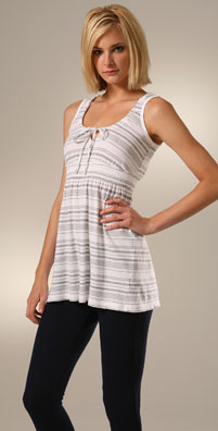 C&C California Heather Stripe Vivi Tunic