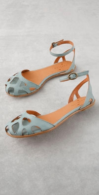 Coclico Shoes Fou Punched Vamp Flat Sandal - shopbop.com from shopbop.com