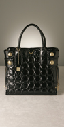 Cynthia Rowley Handbags Cecilla Quilted Patent Tote coupon