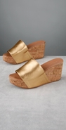 Diane von Furstenberg Shoes Comfy Chic Metallic Slide coupon