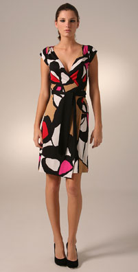 Diane von Furstenberg Abri Wrap Dress