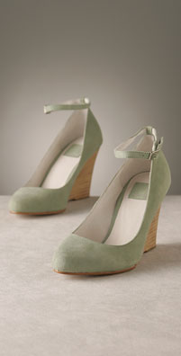 Dolce Vita Suede Wedge with Removable Ankle Strap - shopbop.com from shopbop.com
