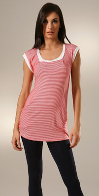 Ella Moss Zuma Striped Top
