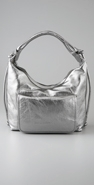 Erotokritos Handbags Metallic Croissant Bag coupon