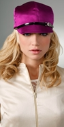 Eugenia Kim Muffy Silk Charmeuse Hat coupon