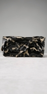 Felix Rey Handbags Print Bow Pouchette Wallet coupon