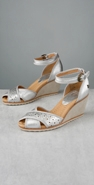 Frye Wanda Metallic Punch Out Wedge coupon