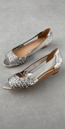 Frye Cameron Metallic Skimmer Flat coupon