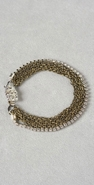 Gara Danielle Chain Bracelet with Rhinestone Box Clasp coupon