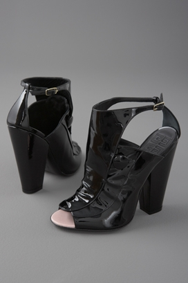 Givenchy Shoes Patent Open Toe Sandal - shopbop.com