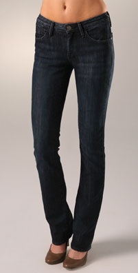 GoldSign Foxy High Waist Straight Leg Jean - shopbop.com