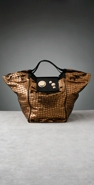 Gustto Estiva Metallic Shopper coupon
