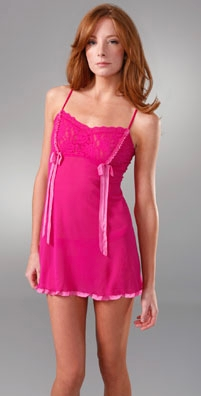 Hanky Panky Baby Doll Chemise with G-String