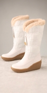 Juicy Couture Footwear Snow Flurry Quilted Wedge Boot coupon