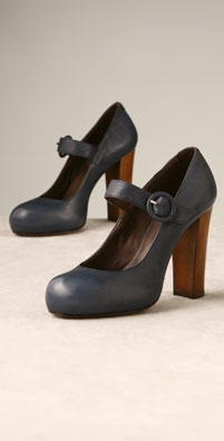 Joie Shoes Veronica Vintage Leather Mary Jane Pump