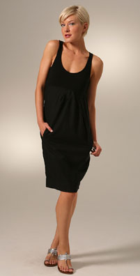 James Perse Gathered Sheath Dress