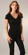 James Perse Short Sleeve V Neck Tee coupon