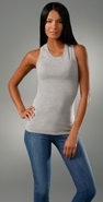 James Perse Heather Racer Back Tank coupon