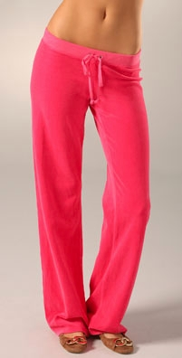 Juicy Couture Velour Drawstring Pant