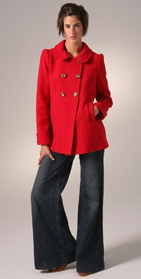 Juicy Couture Double Breasted Coat
