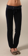 Juicy Couture Velour Elastic Hem Skinny Pant coupon