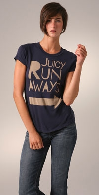 Juicy Couture 'Juicy Run Aways' Tee - shopbop.com