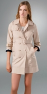Juicy Couture Skirted Trench coupon