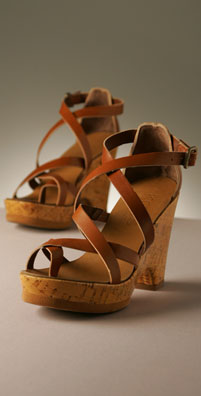 KORS Shoes Egypt Cork Sandal