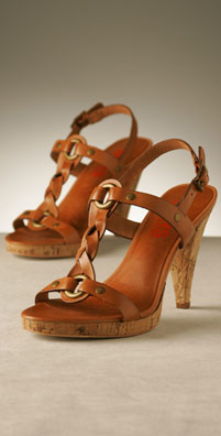 KORS Shoes Doheny Cork Heel