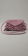 Lauren Merkin Diana Sponged Lambskin Clutch coupon