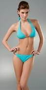 Lisa Curran Wood Bamboo Halter & Hipster Bikini coupon