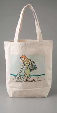 Leftover Bags Thankyoulady Tote