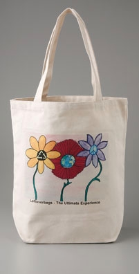 Leftover Bags Flowerpower Tote