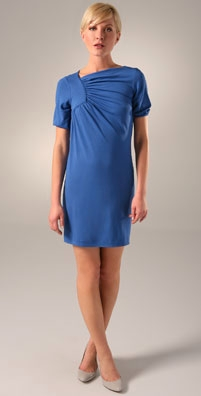 Lewis Cho Draped Dress
