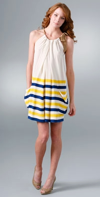 Marc by Marc Jacobs Seaboard Stripe Silk Dress - shopbop.com from shopbop.com