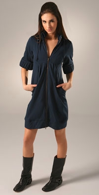 Mike & Chris Clement Lightweight Fleece Hooded Dress - shopbop.com from shopbop.com