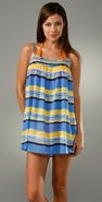 Milly Sunset Stripes San Remo Strappy Dress coupon