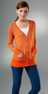 Millions of Smiles Striped Long Cardigan coupon