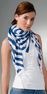 Millions of Smiles Striped Scarf coupon