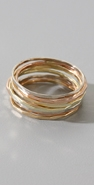 Melissa Joy Manning Set of 8 Stackable Rings coupon