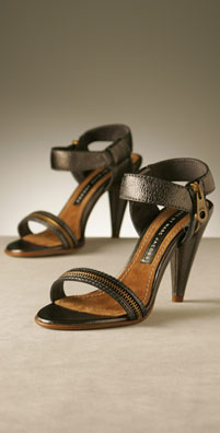 Marc by Marc Jacobs Shoes Zipper and Ankle Strap Open Toe Sandal
