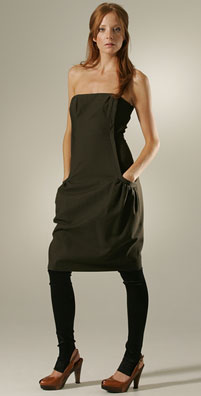Marie Marie Pocket Dress Lined with China Silk