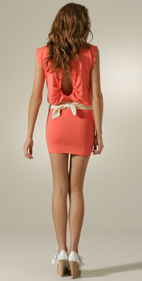 Rachel Pally Sleeveless Split Back Mini Dress