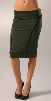 Rachel Pally Piped Pencil Skirt