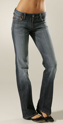 Seven Jeans Stretch Boot Cut Jean
